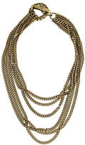 Giles & Brother Chain & Spike Toggle Necklace