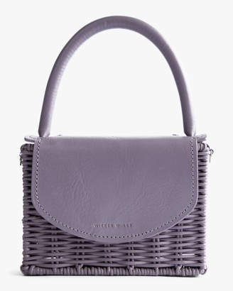 Wicker Wings Lavender Babing Handbag