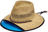 San Diego Hat Company Men's Lifeguard Safari Hat with Plastic Visor RSM585