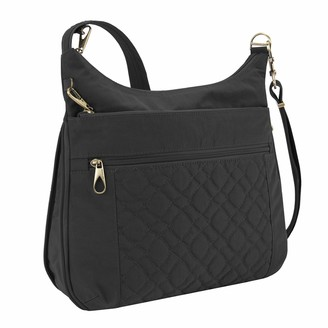Travelon Anti-Theft Signature Quilted Expansion Crossbody