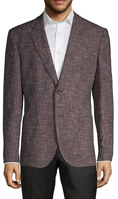 HUGO BOSS Regular-Fit Virgin-Wool Blend Blazer
