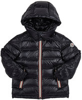 Moncler Gaston Channel-Quilted Coat-NAVY