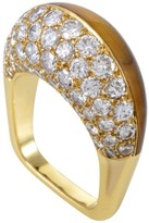Mauboussin 18K Yellow Gold Diamond & Tiger