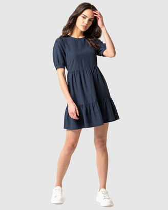 Forever New Jane Mini Smock Dress