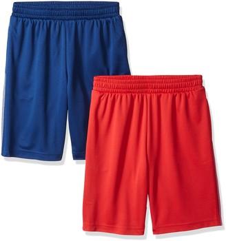 Amazon Essentials Boys' 2-pack Mesh Short Navy/Black 3T