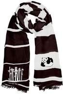 Winky Designs Black Panda Scarf