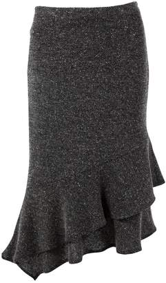 Rene Lezard Grey Wool Skirts