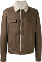 Salvatore Santoro - chest pockets leather jacket - men - Leather - 52