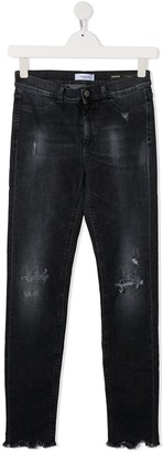 Dondup Kids TEEN high-rise skinny jeans