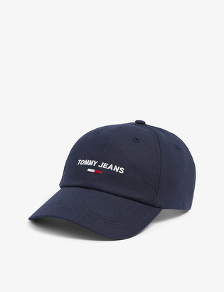 Tommy Hilfiger Logo-embroidered organic-cotton baseball cap