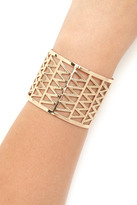 Forever 21 FOREVER 21+ Zigzag Cutout Cuff
