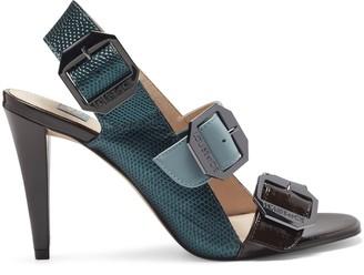 Louise et Cie Khalon Logo-Buckle Sandal