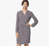 Johnston & Murphy Geo-Print Drawstring Dress