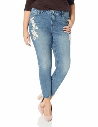 Lucky Brand Women's Plus Size MID Rise Lolita Skinny Jean in Avon 16W