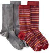 L.L. Bean Men's Everyday Chino Socks, Lightweight,Two-Pack