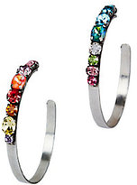 Dannijo Umija Rainbow Hoop Earrings