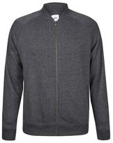 Burton Mens Charcoal Peached Bomber Jacket