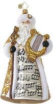 Christopher Radko Song of Saint Nick! Santa Claus Christmas Ornament