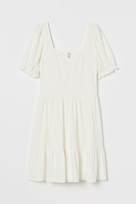 H&M Smocking-detail dress