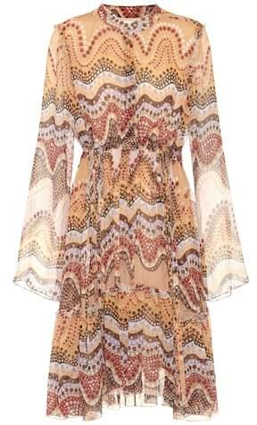 Chloé Exclusive to mytheresa.com – printed silk-crepon dress