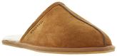 Dune Flintoff Faux Fur Lined Mule Slippers