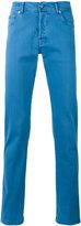 Kiton slim-fit trousers - men - Cotton/Spandex/Elastane - 31