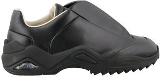 Maison Margiela Future Logo Patch Low Top Sneakers
