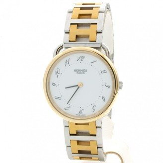 Hermes Arceau Gold gold and steel Watches