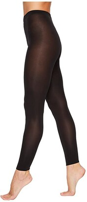 Wolford Velvet 66 Leggings (Black) Women's Clothing