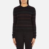 Paul Smith Women's Fine Stripe Jumper Black
