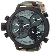 Welder Unisex 8004 K29 Oversize Three Time Zone Chronograph Watch