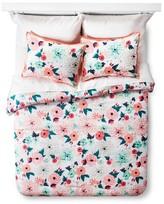 Xhilaration Multi Floral Printed Comforter Set Multicolor