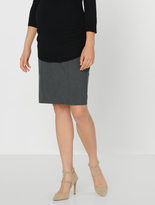 A Pea in the Pod Secret Fit Belly Maternity Skirt