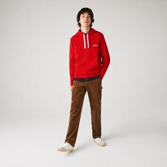 Lacoste Men's Hooded Fleece Sweatshirt