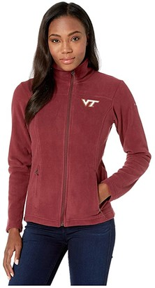Columbia College Virginia Tech Hokies CLG Give and Gotm II Full Zip Fleece Jacket