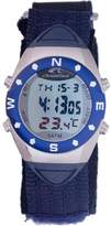 Chronotech Men's CT.8070M/02 Blue Canvas Band watch.