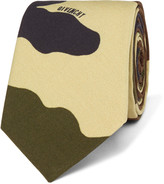 Givenchy Camouflage-Print Cotton Tie