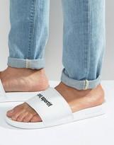 Le Coq Sportif Slider Flip Flops In White 1621987