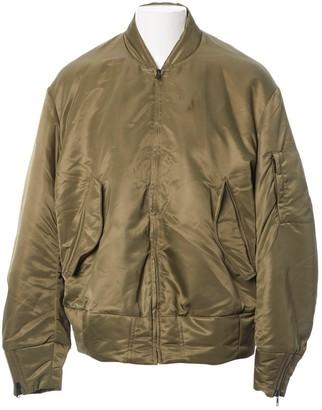 Yeezy Khaki Polyester Jackets
