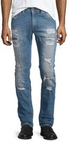 Diesel Thavar Destroyed Slim Jeans, Denim