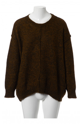 Isabel Marant Gold Synthetic Knitwear