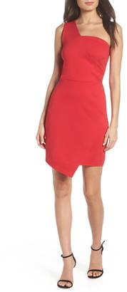 Fraiche by J One Shoulder Jersey Dress