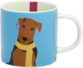 Joules Cuppa Mug - Blue Airedale