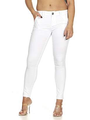 Cover Girl Women Cute Twill Pants Denim Trouser Colored Skinny Jeans Womens
