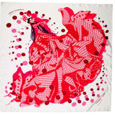 Hermes Hola Flamenca Silk Scarf