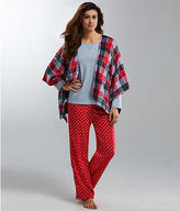Karen Neuburger Fleece Knit Pajama Set