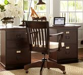 Pottery Barn Bedford Rectangular Desk, Espresso