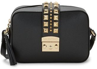 Mario Valentino Valentino By Lila Palmellato Rockstud Leather Camera Bag