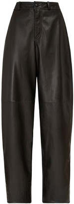 Briony High Waist Leather Pants