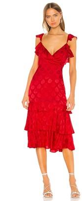 Majorelle Nolita Midi Dress